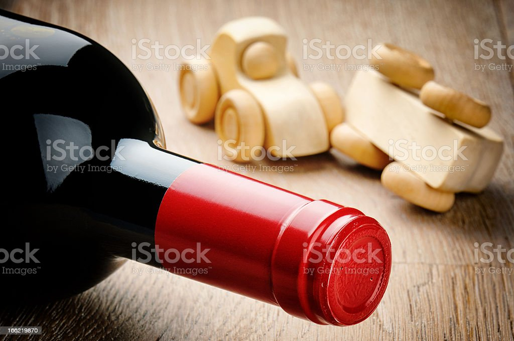 Anti-drink driving concept stock photo