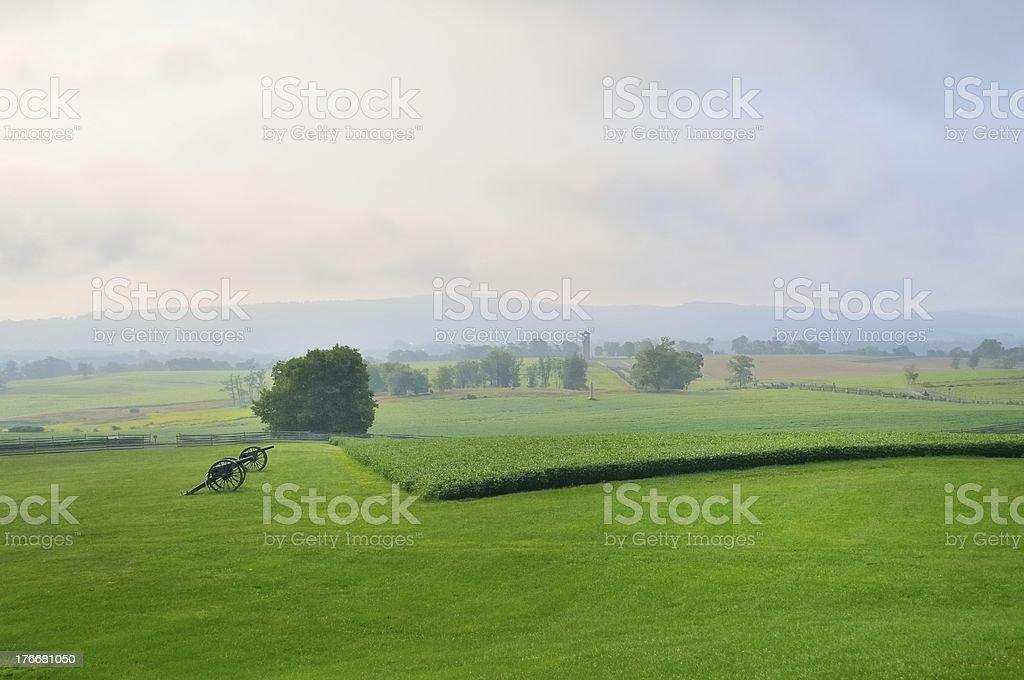 Antietam Battlefield View royalty-free stock photo