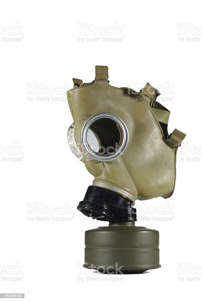 anti-gas mask stock photo