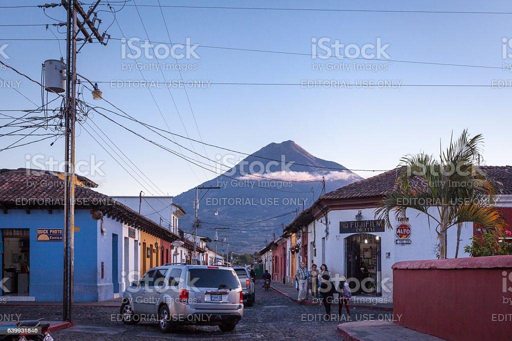 Antigua ,Guatemala stock photo