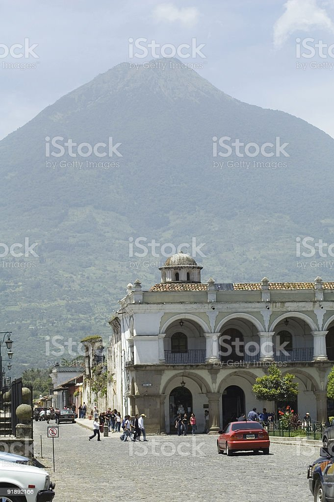 Antigua Guatemala royalty-free stock photo