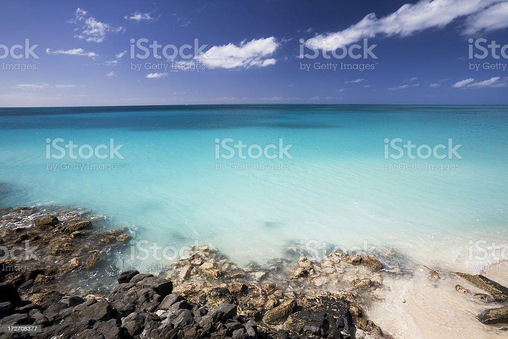 Antigua Seascape stock photo