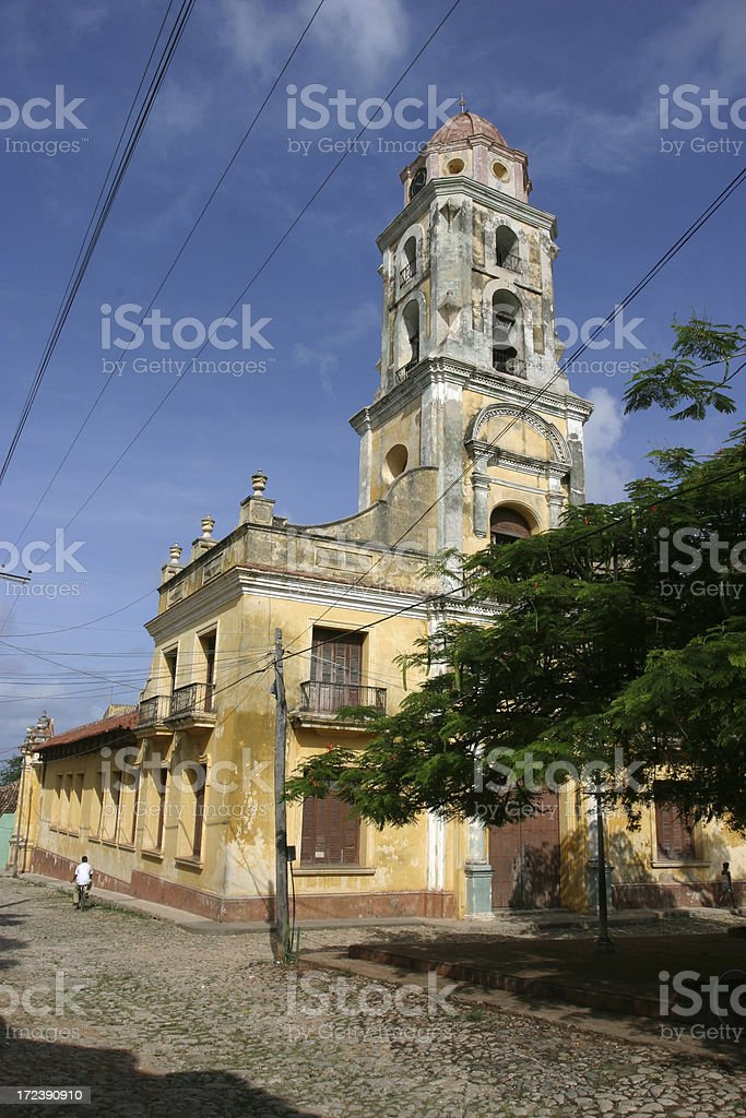 Antiguo Convento de San Francisco Asis, Trinidad stock photo
