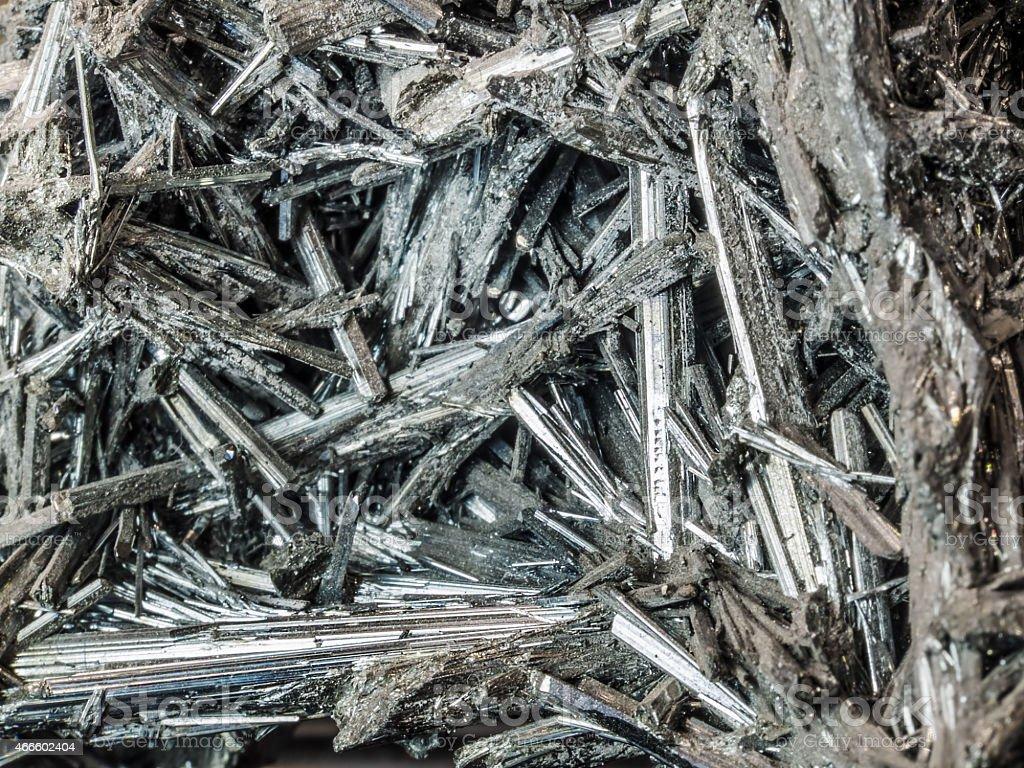 Antimonit stock photo