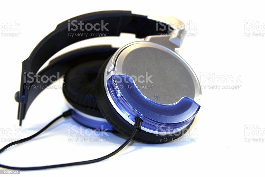 Anti-Noise Headphones royalty-free stock photo
