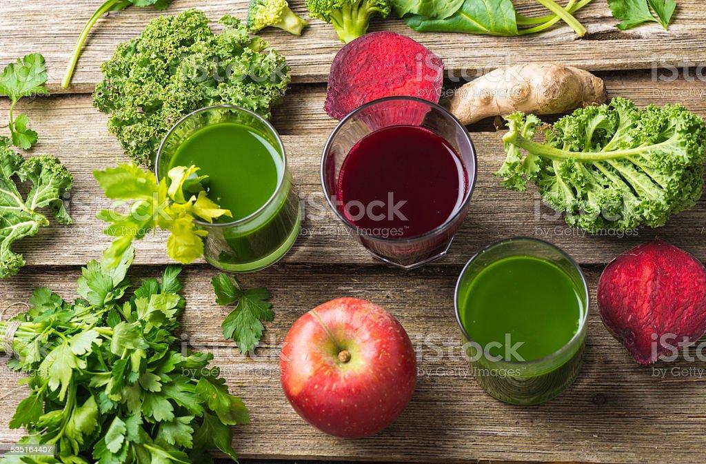 Antioxidant Cocktail stock photo