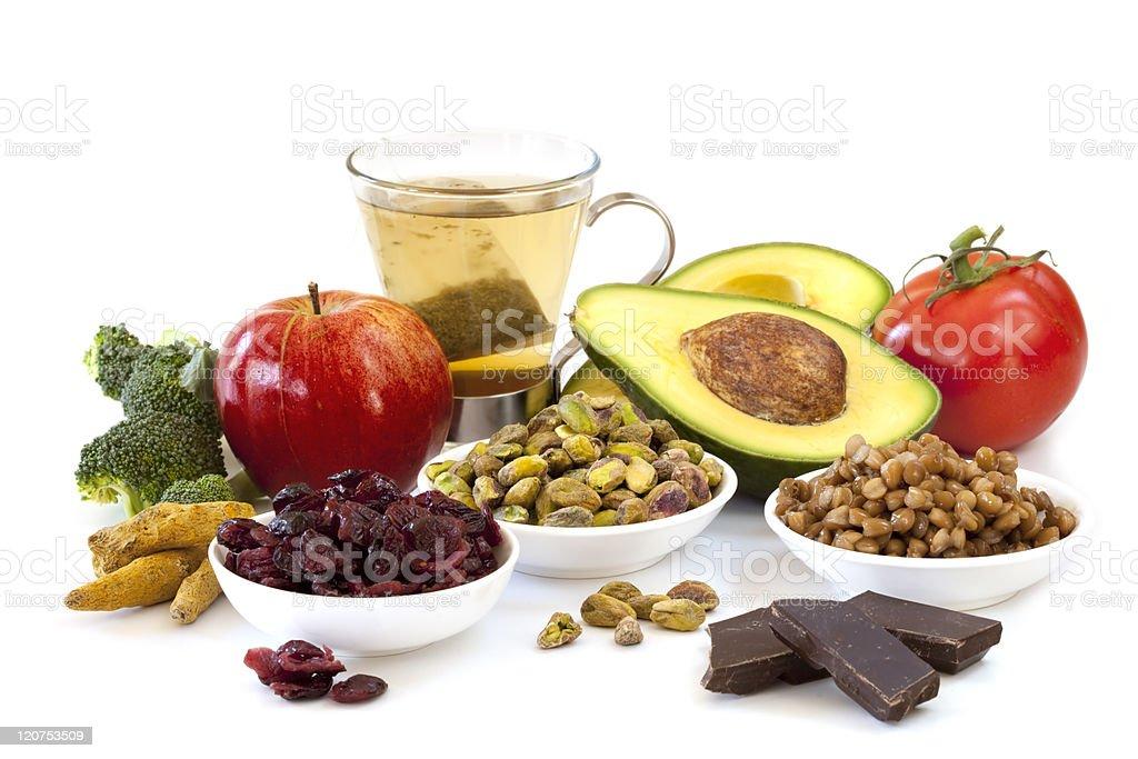 Antioxidants stock photo