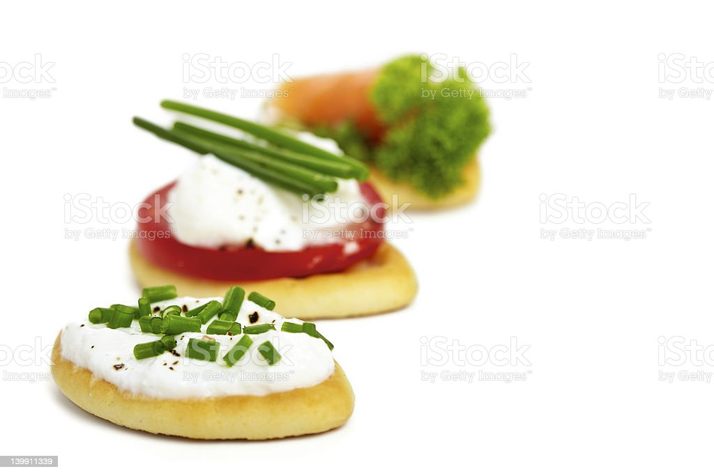 Antipasi biscuits stock photo