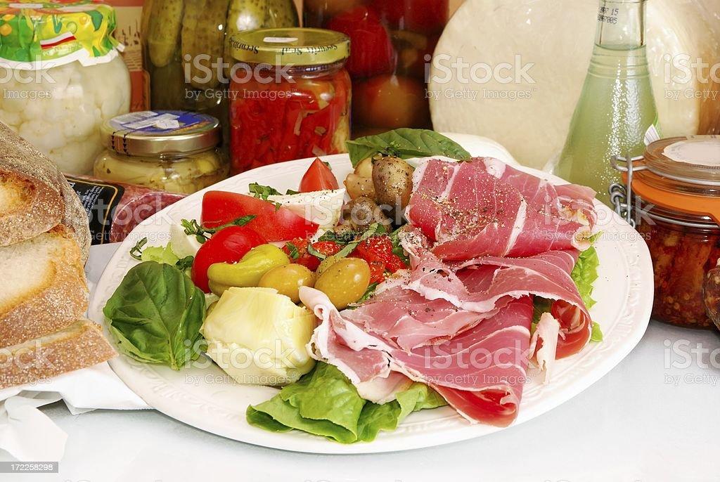 Antipasto royalty-free stock photo