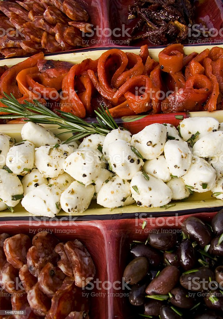 Antipasto Platter royalty-free stock photo