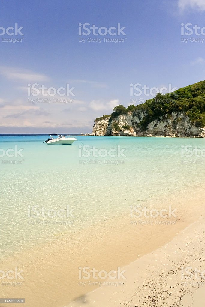 Antipaxos Island royalty-free stock photo