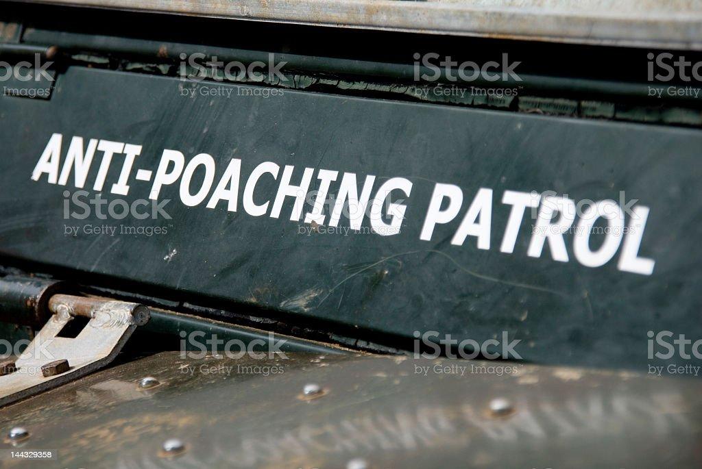 Anti-Poaching Patrol stock photo