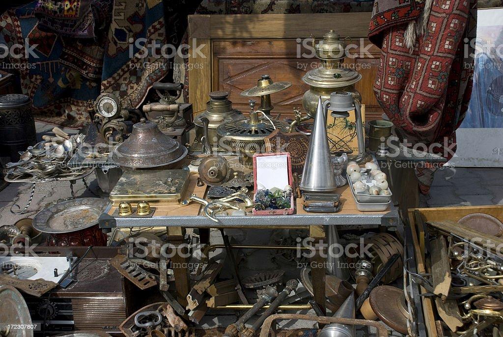 Antiquarian Shop royalty-free stock photo