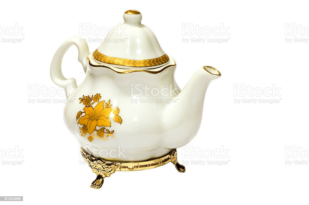 antiquary teaport royalty-free stock photo