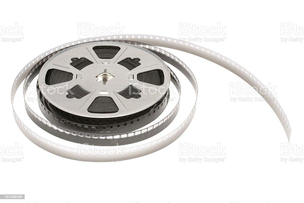 antique 8mm movie film reel royalty-free stock photo