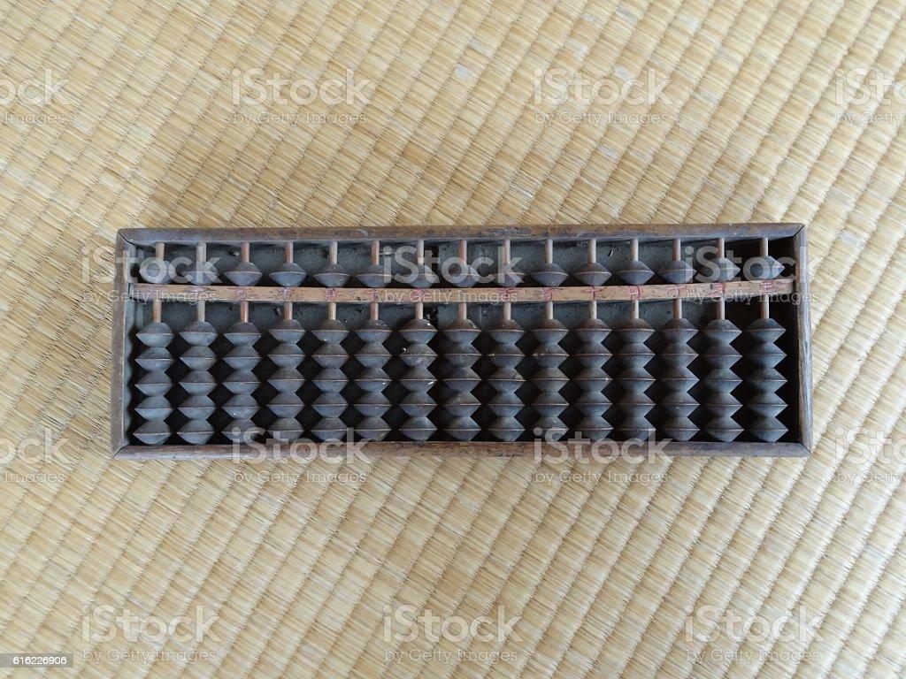 Antique  Abacus stock photo