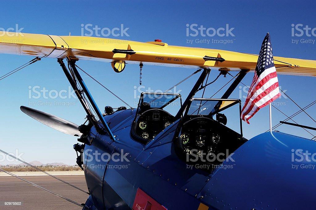 Antique Aircraft 5 stock photo