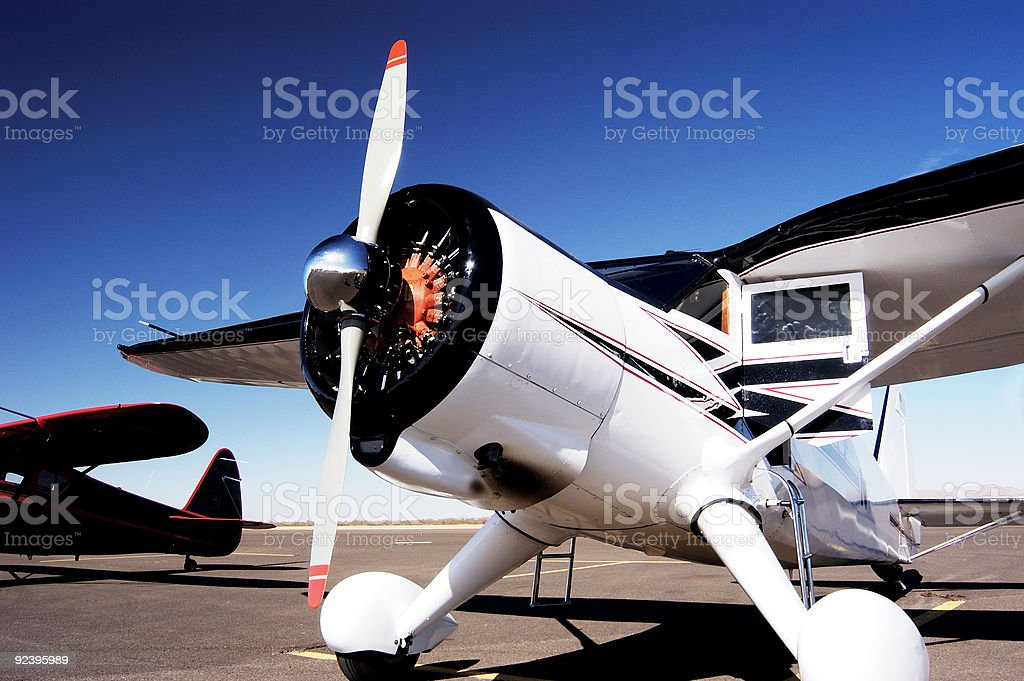 Antique Aircraft 6 royalty-free stock photo