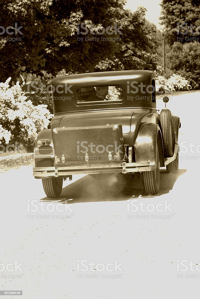Antique Automobile royalty-free stock photo