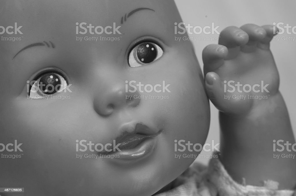 Antique Baby Doll stock photo