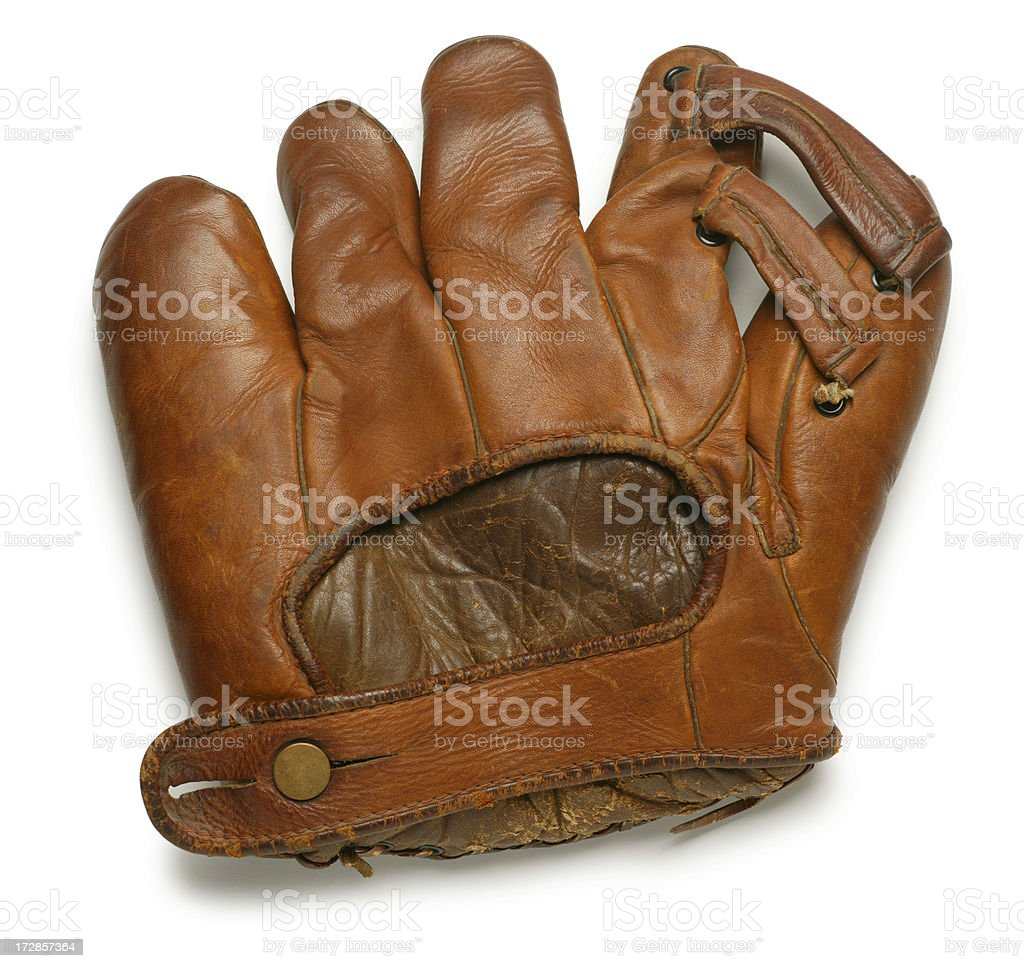 Antique Baeball Glove royalty-free stock photo
