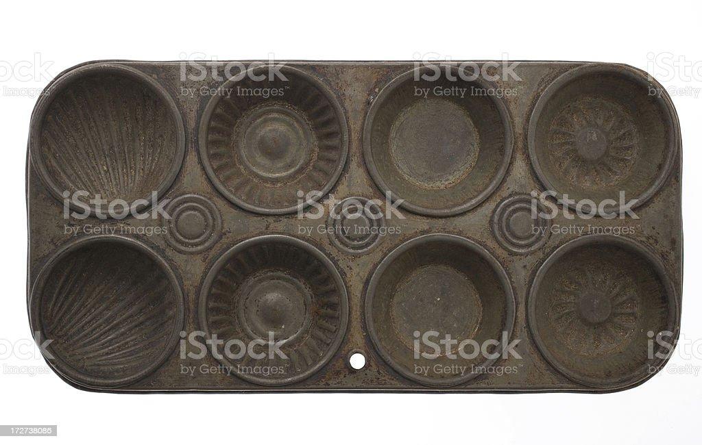 Antique Baking tray royalty-free stock photo