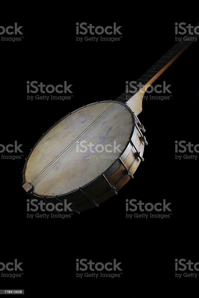 Antigo Banjo foto royalty-free