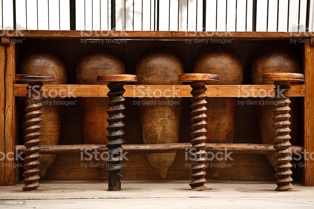 Antique Bar stock photo