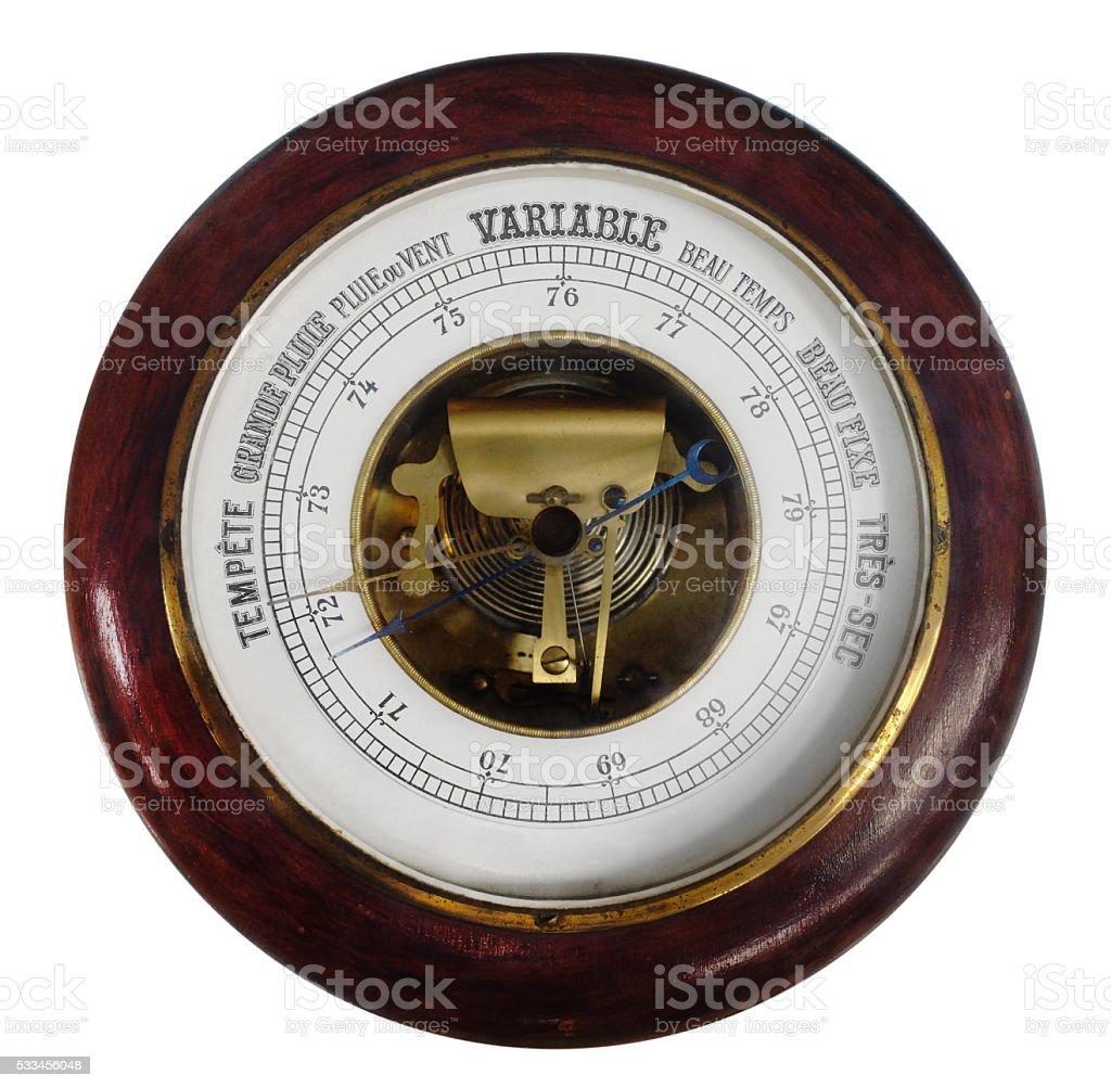 Antique Barometer stock photo