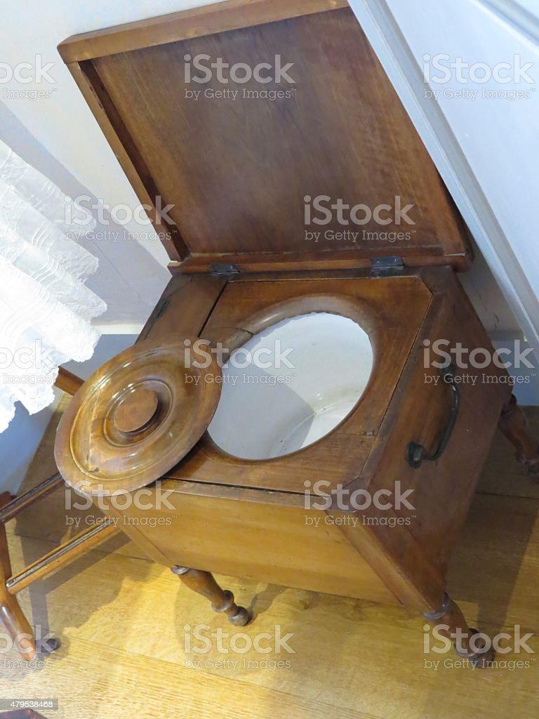 antique bathroom stock photo