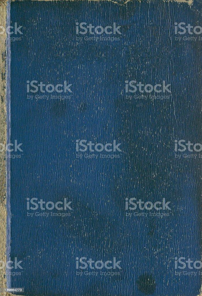 Livre antique texture bleu photo libre de droits