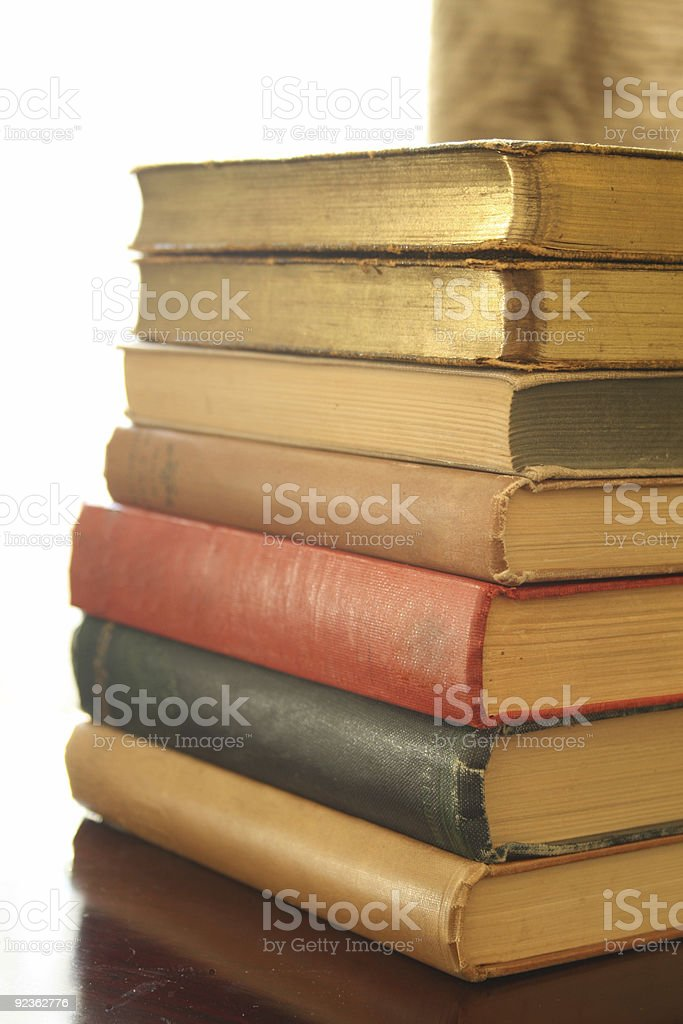 Antique Book Club royalty-free stock photo