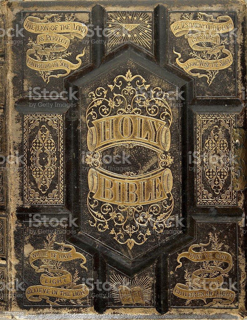 Antique Book Series ( ca 1870) stock photo