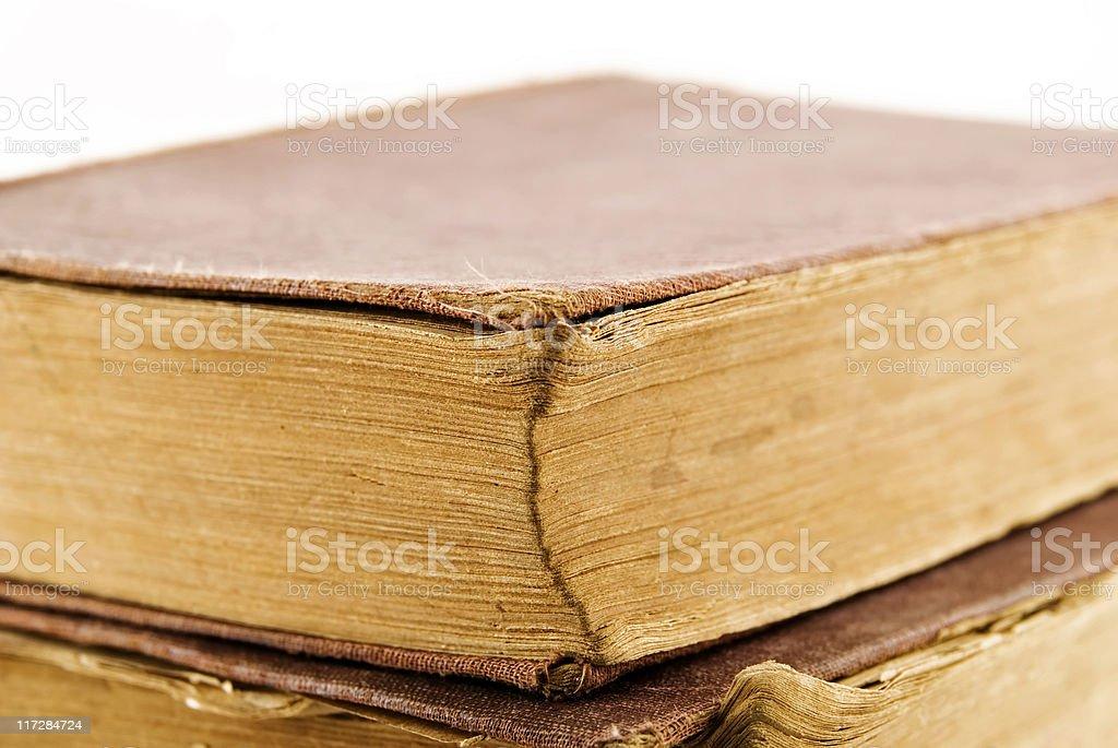 antique books  royalty-free stock photo