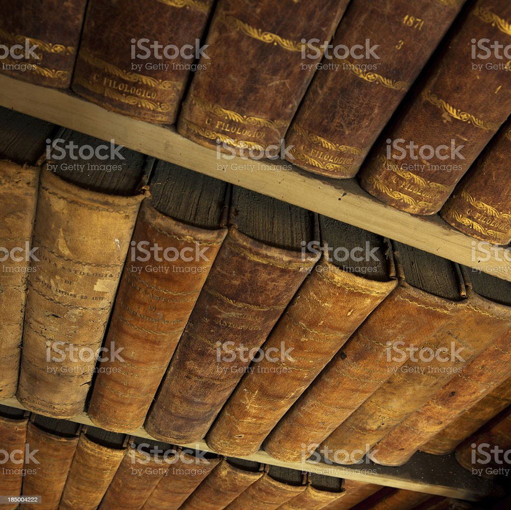 Antique Books stock photo