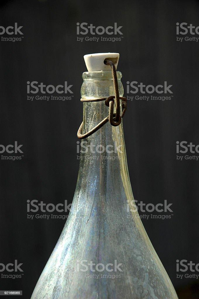 Старые бутылки Стоковые фото Стоковая фотография