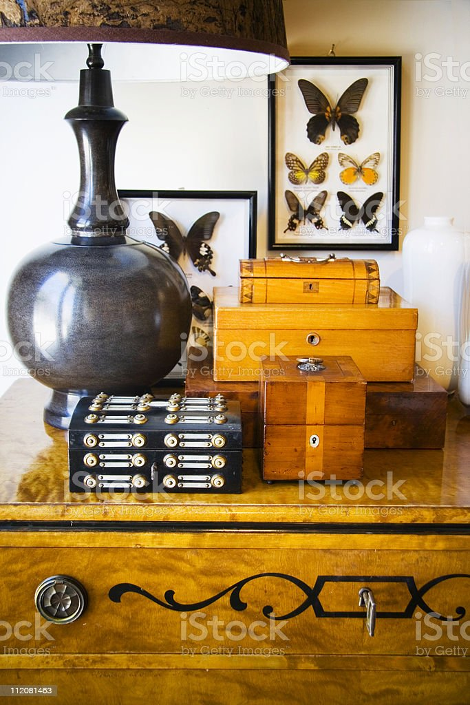Antique Box royalty-free stock photo