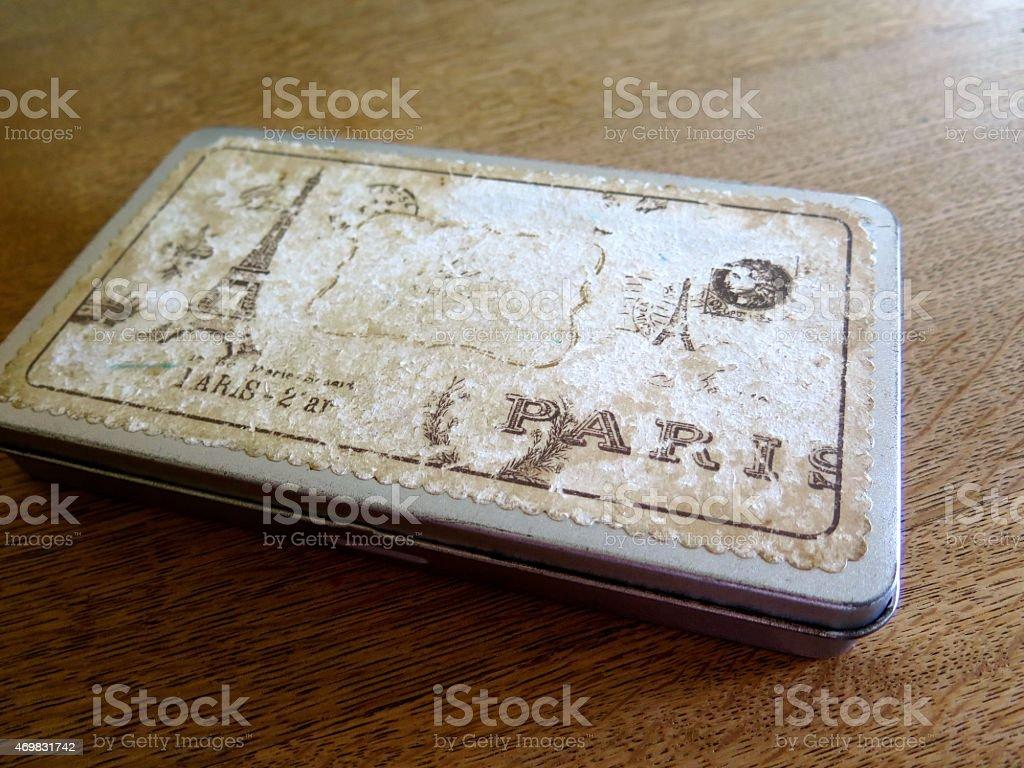 Antique Box royalty-free stock photo