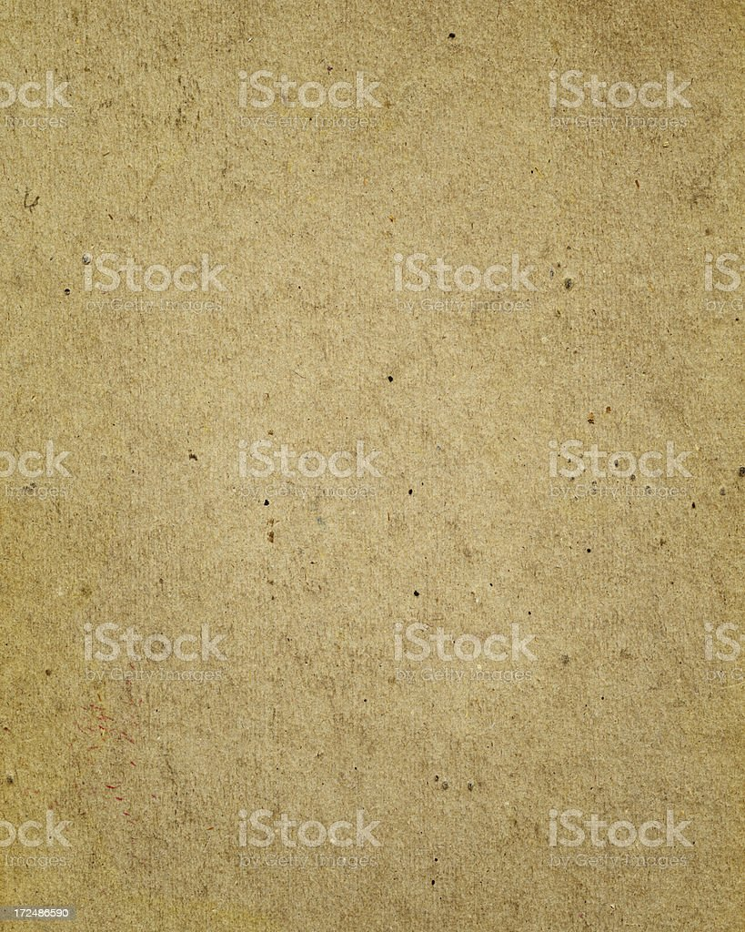 antique brown cardboard royalty-free stock photo
