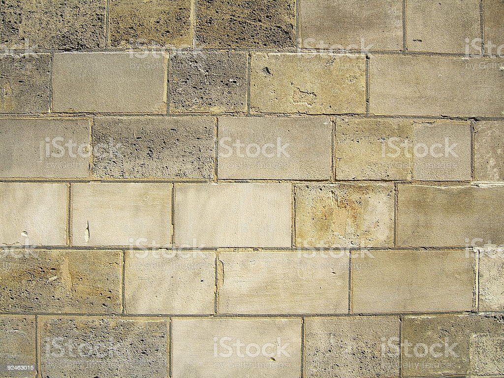 Antique brown wall stock photo