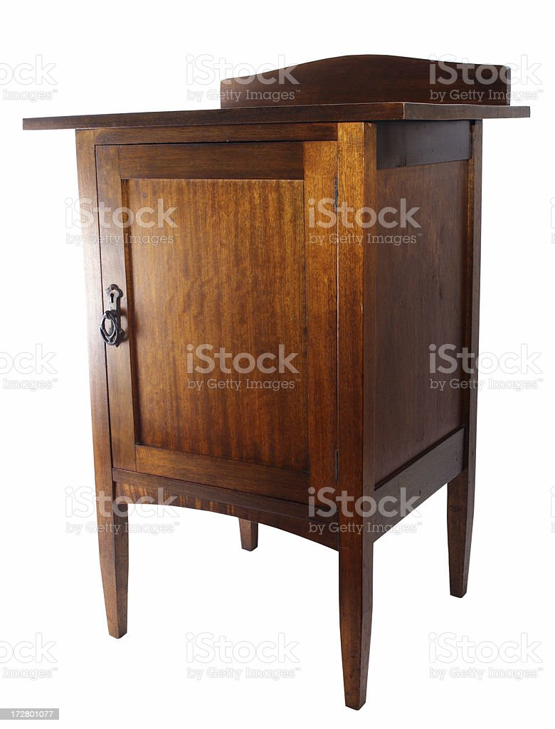 antique cabinet royalty-free stock photo