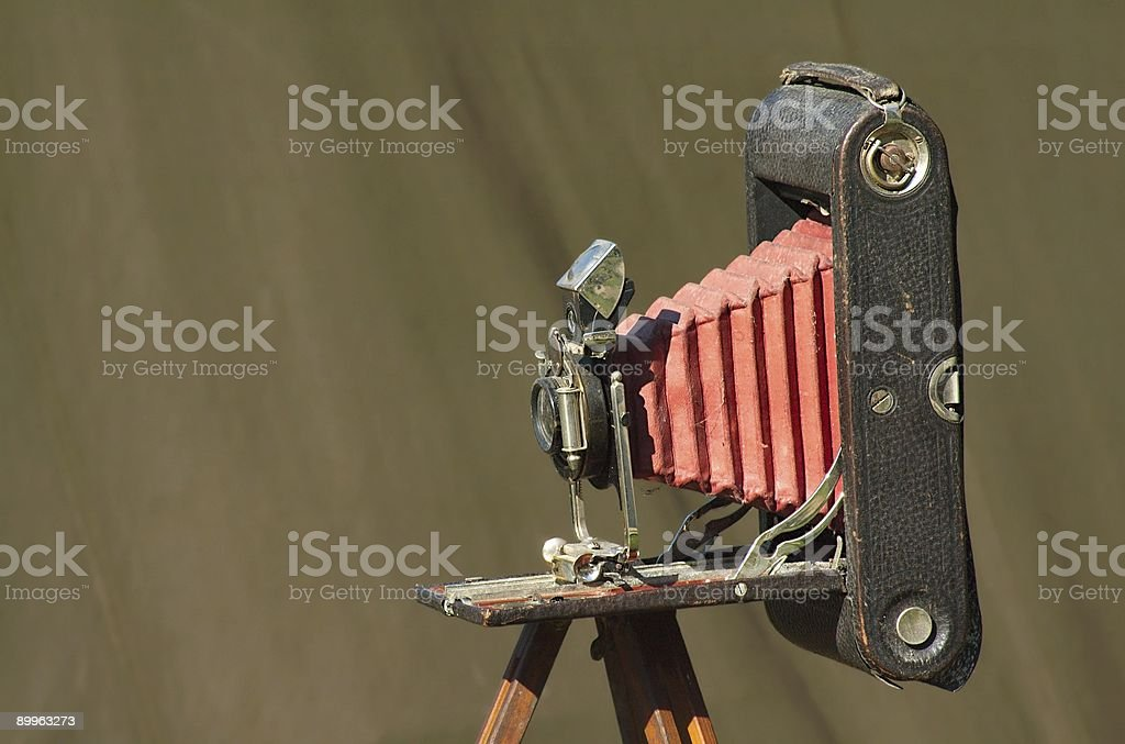 Antique Camera royalty-free stock photo