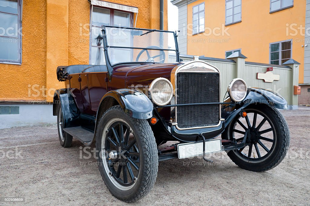 Antique Car from 1926 stock photo