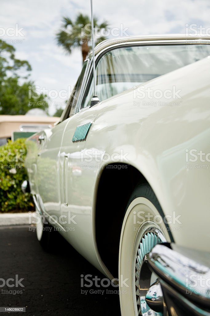 Antique car stock photo