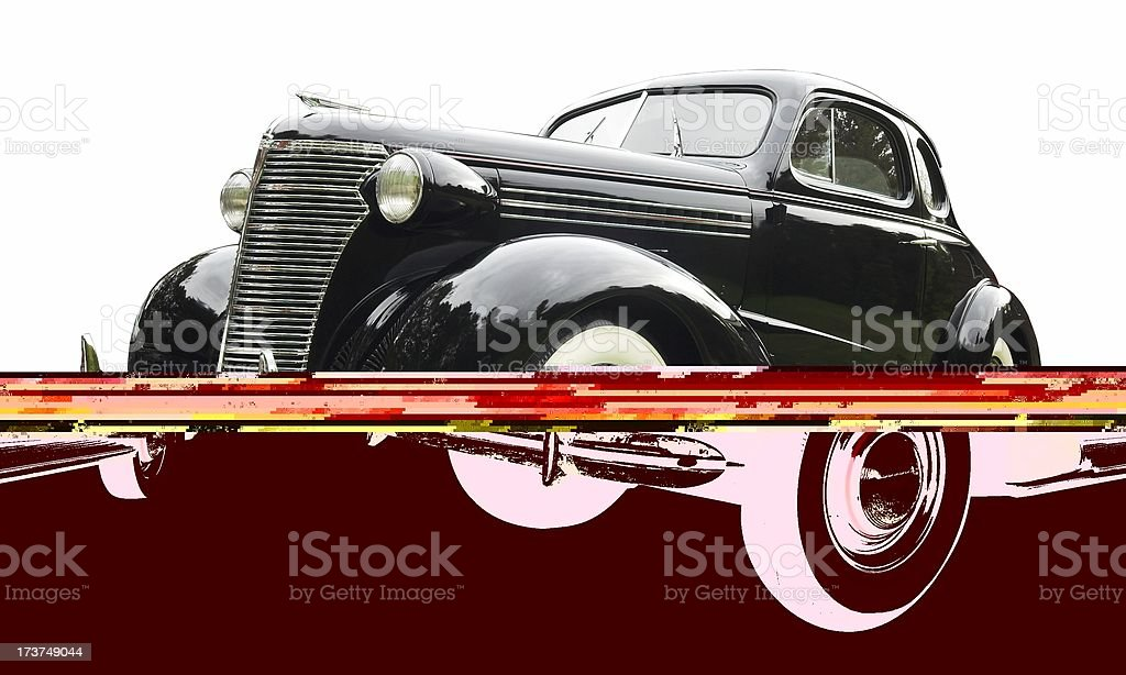 Antique car royalty-free stock photo