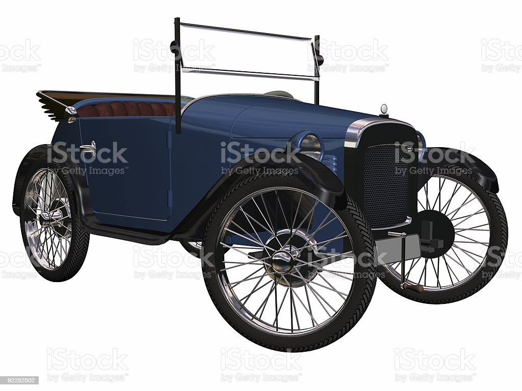 antique car royalty-free stock photo