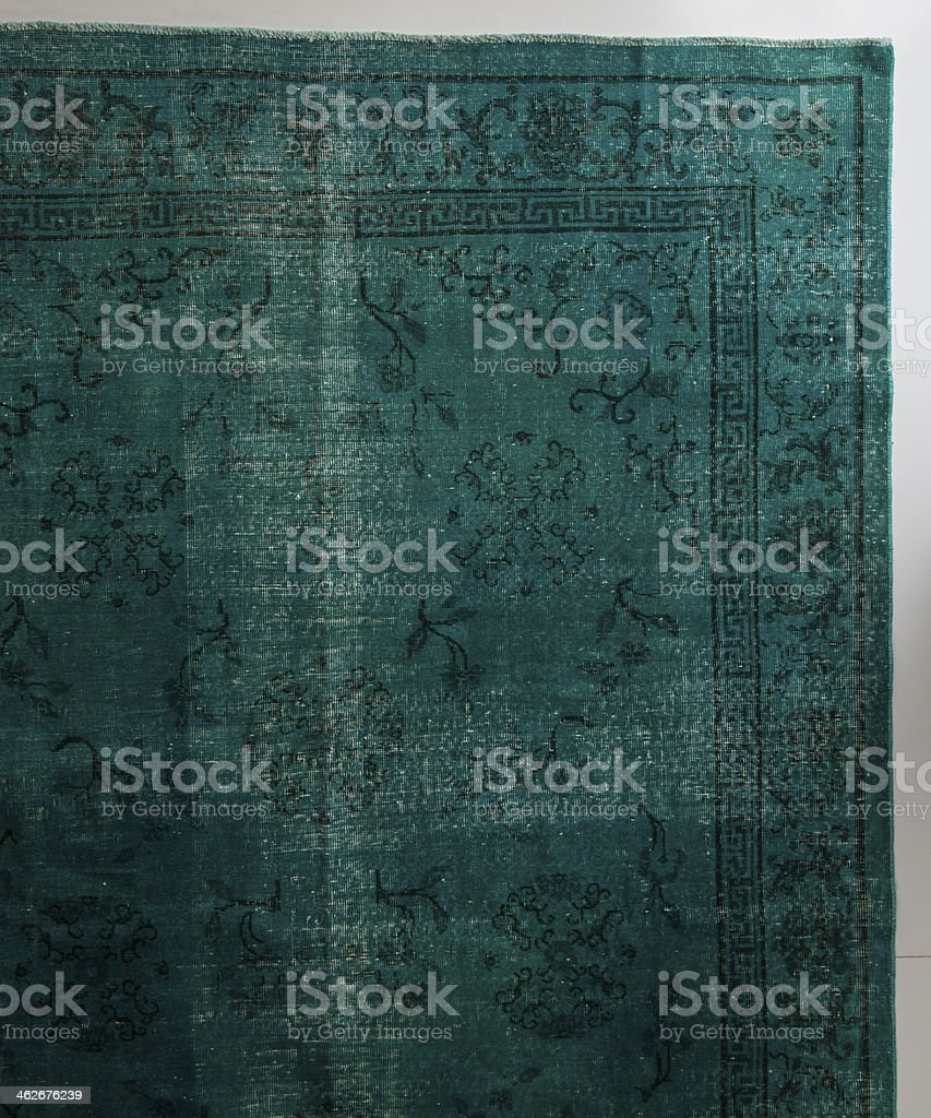 antique carpet royalty-free stock photo