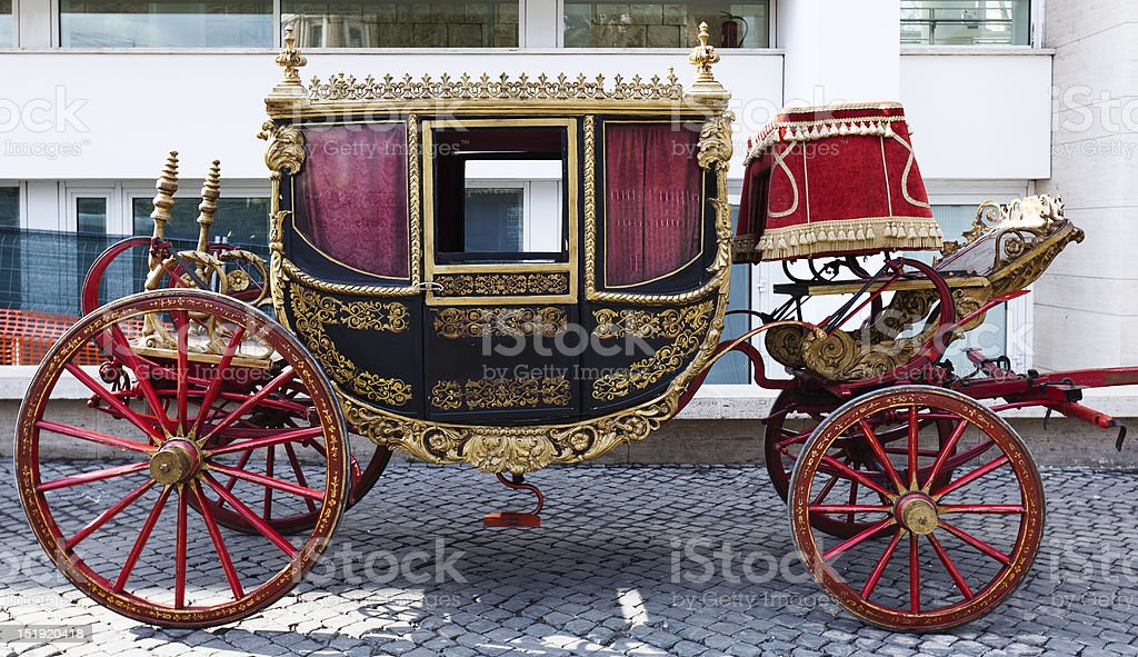 Antique Carriage stock photo