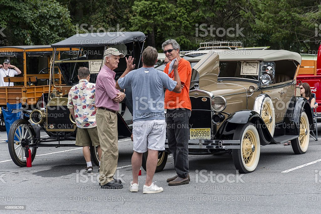Antique Cars stock photo