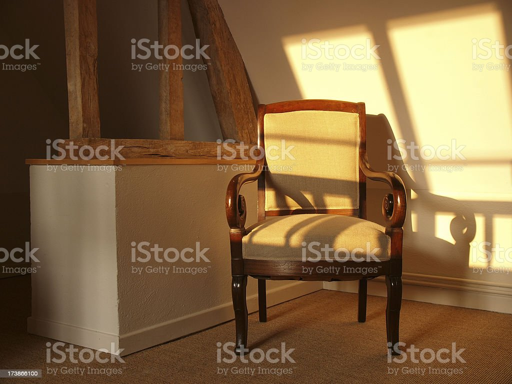Antique Chair royalty-free stock photo